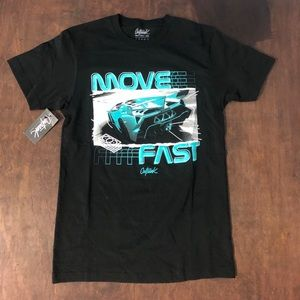 Other - Sz small graphic tee black